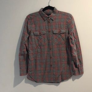J.Crew Plaid Flannel Shirt. Only worn once.